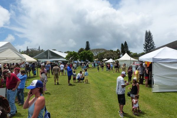 Haiku Ho'olaule'a and Flower Festival and Hoʻokipa Beach Park