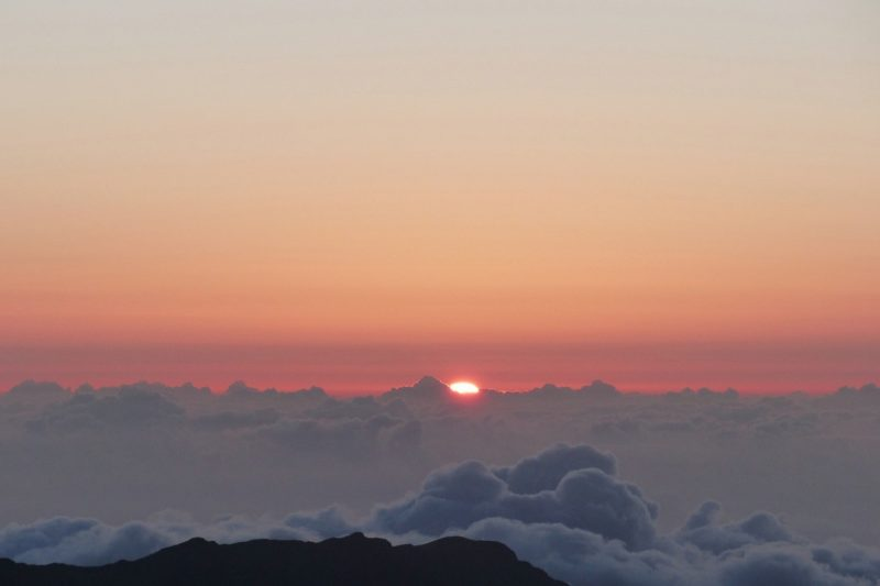 Haleakala Summit Sunrise