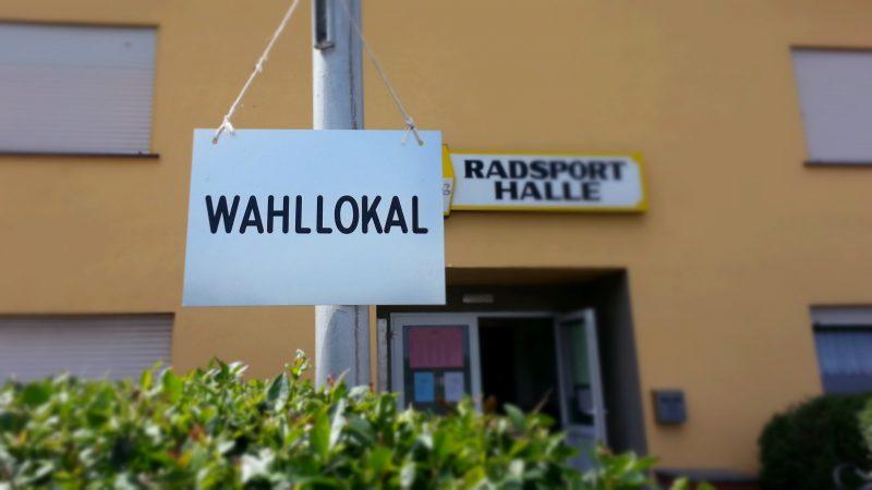 Wahllokal Selzen (Polling Station Selzen, Germany)
