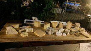Käse vom Brett im Kaupers, Selzen