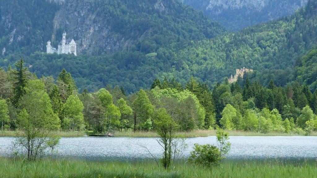Alpenrosenweg: Schwansee, Schlösser Neuschwanstein und Hohenschwangau