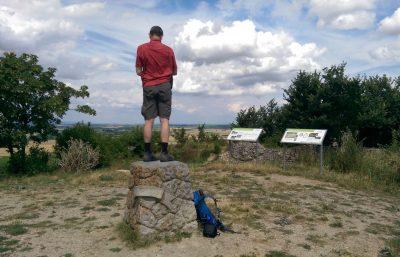 Selztalwanderung von Alzey nach Selzen: Auf dem Petersberg