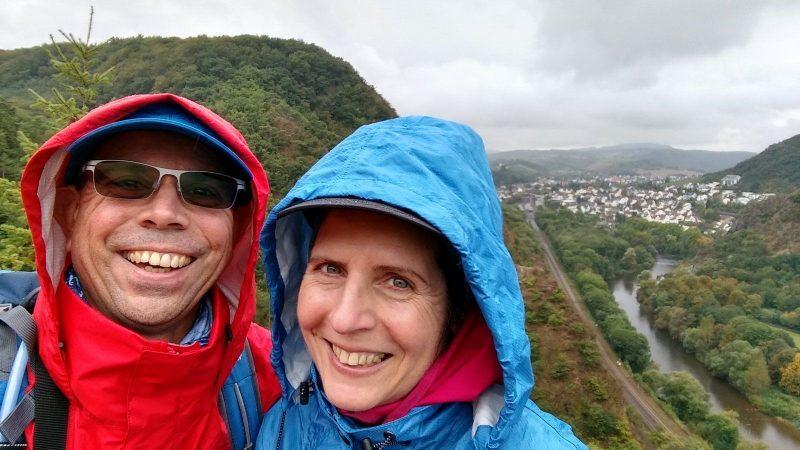 TourNatur Salinental: Selfie über dem Nahetal