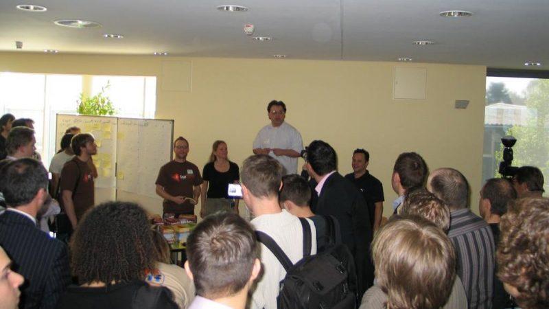BarCamp Frankfurt 2007 (Sessionplanung)
