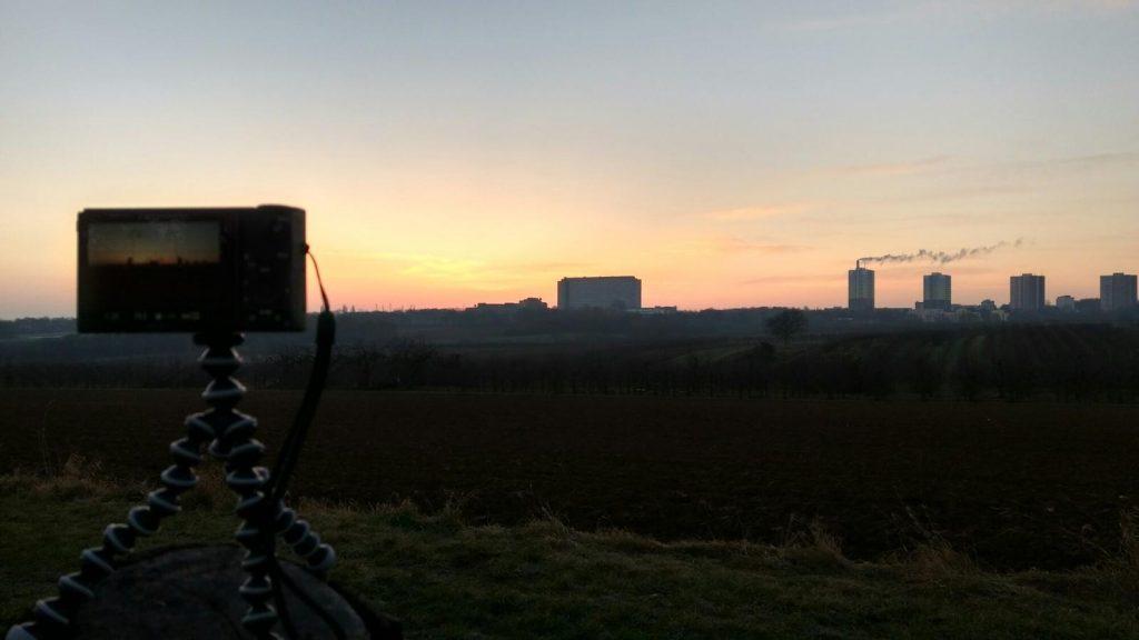 Sonnenaufgang überm ZDF
