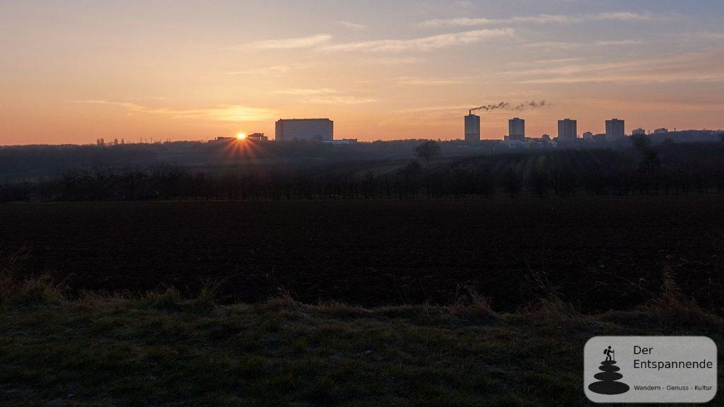 Sonnenaufgang über dem ZDF