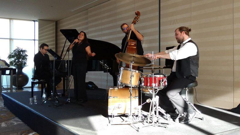 Jazz & Dine im Atrium Hotel Mainz: Nicole Sharma