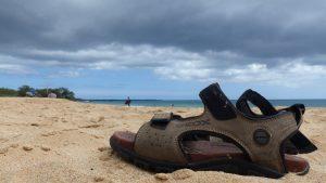 Jenseits von Straßen: Strand auf Maui
