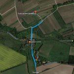 Anfahrt zum Flonheimer Trullo (Google Maps)