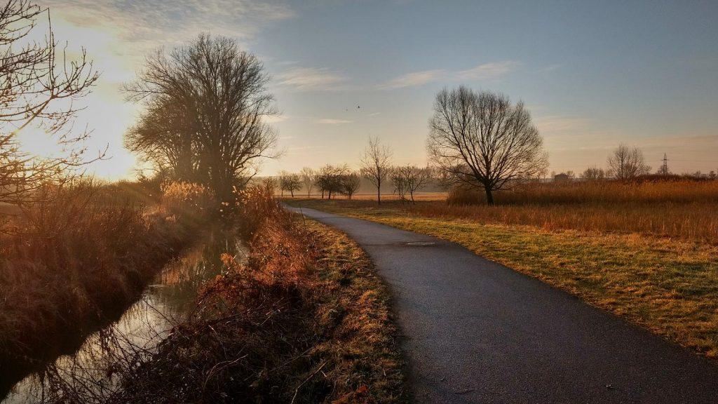 SunriseRun - Die Selz bei Köngernheim