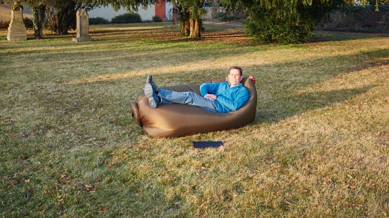 Fatboy Lamzac zum Relaxen und Ausruhen