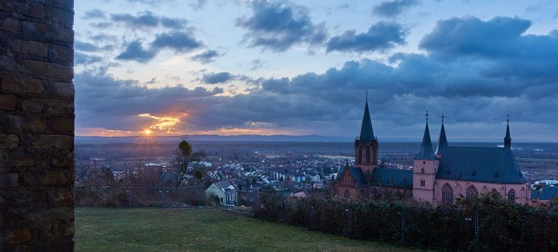 Stern von der Katharinenkirche Oppenheim