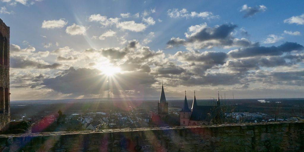 Sonnenaufgang über der Katharinenkirche Oppenheim