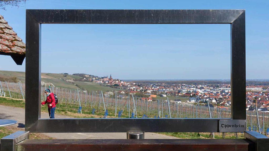 RheinhessenWunderTour: In den Weinbergen über Oppenheim