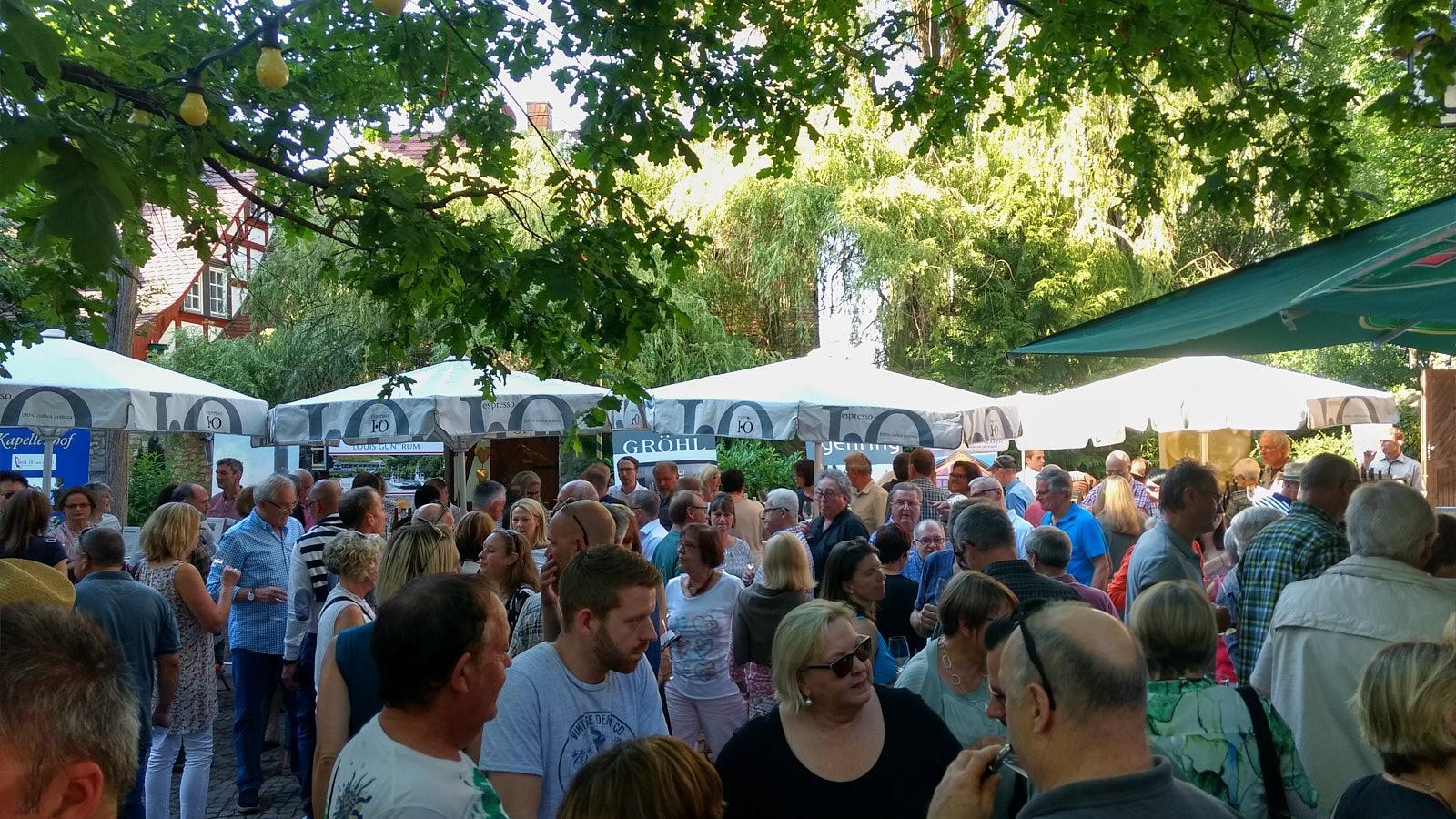 Weinfest 2017 bei Jordan's Untermühle