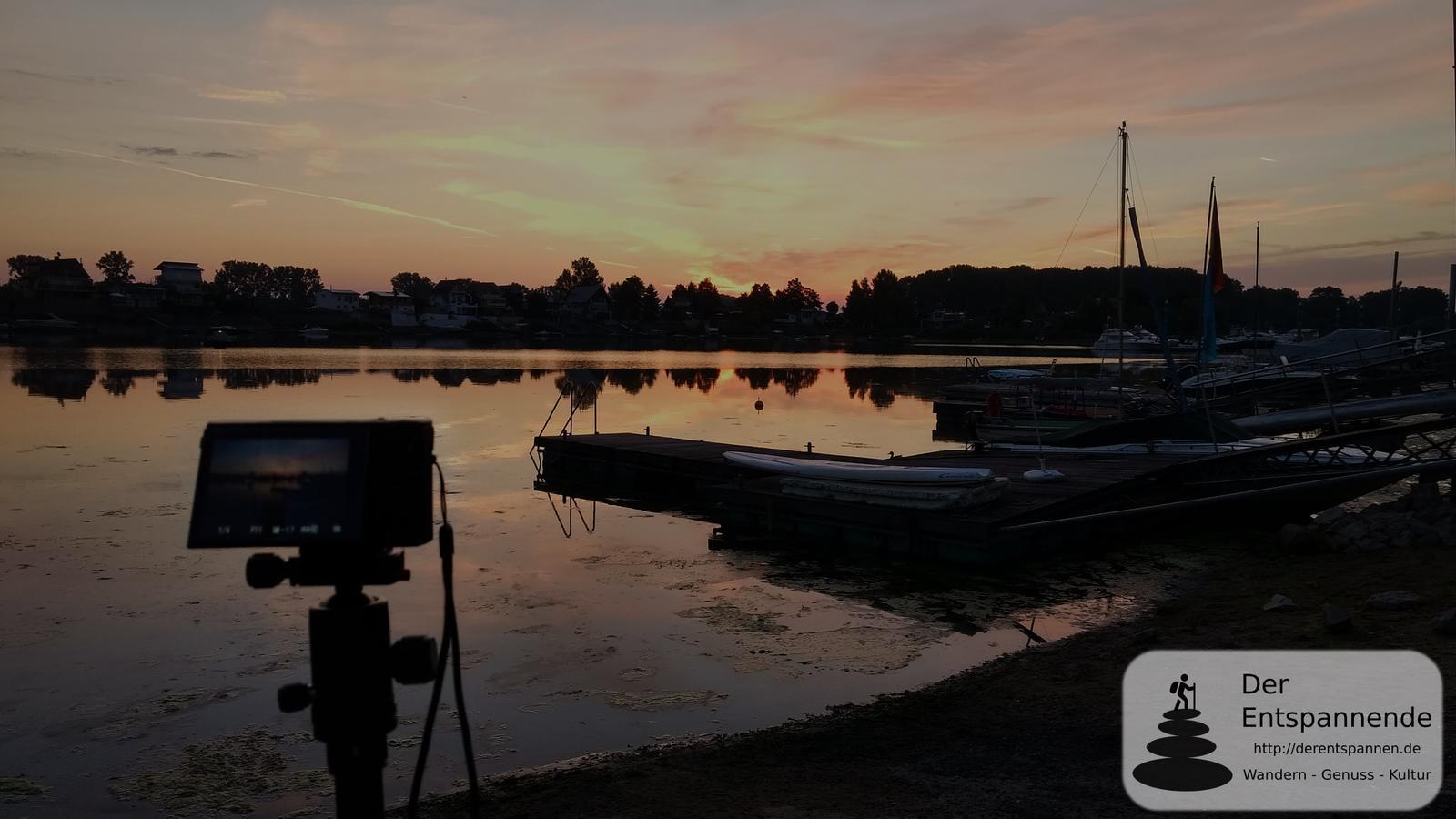 Sonnenaufgang über dem Eicher See...