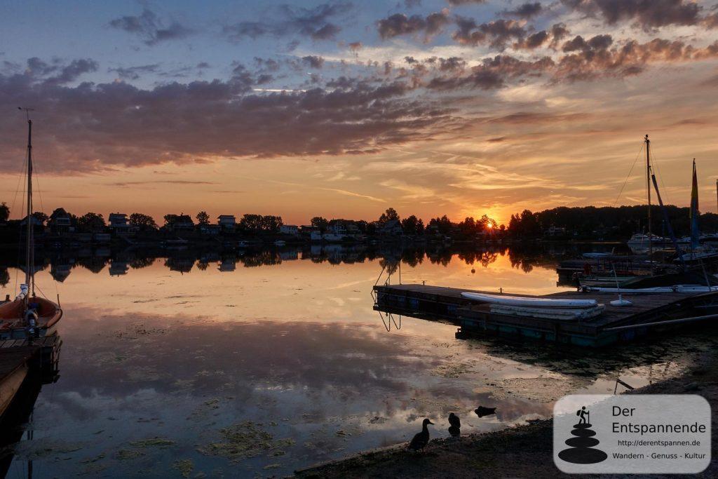#12SunriseRheinhessen: Sonnenaufgang über dem Eicher See