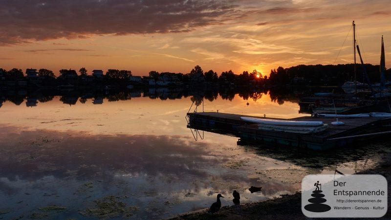 Sonnenaufgang über dem Eicher See