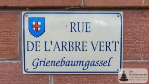 Grienebaumgassel in Mietesheim