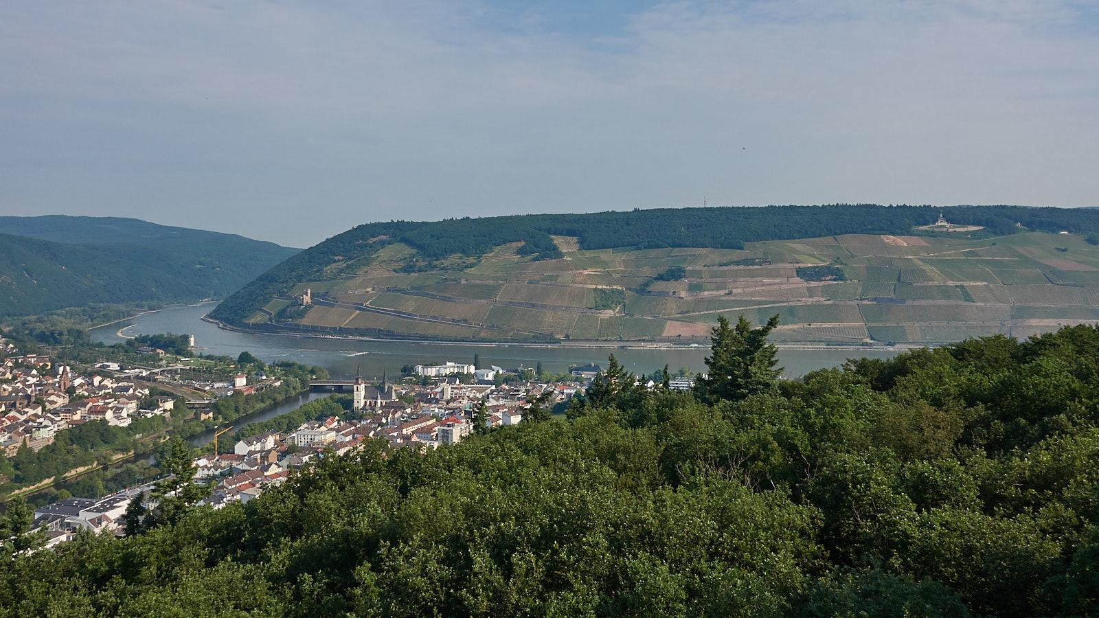 Wandern auf dem Rochusberg bei Bingen mit Rochuskapelle, Bethlehem-Kapelle, Kaiser-Friedrich-Turm...