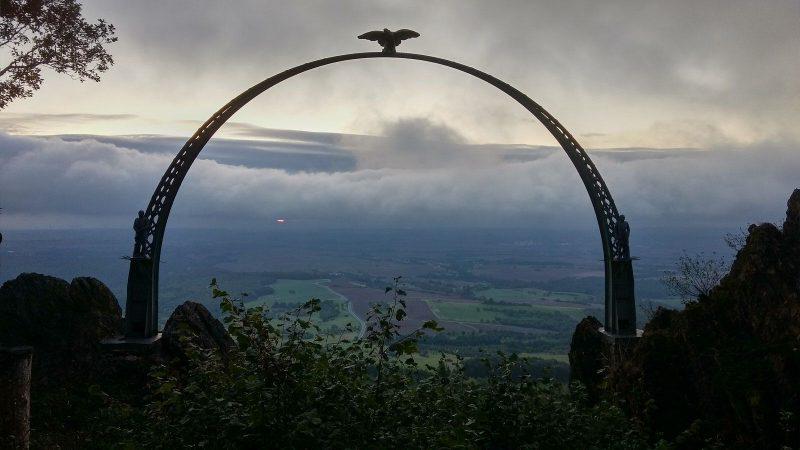 Adlerbogen beim Moltkefelsen