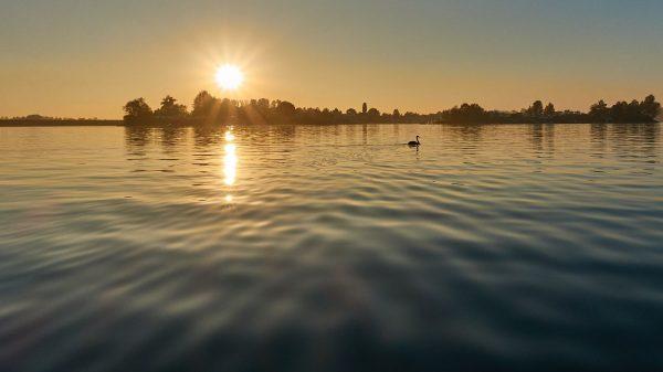 Flossfahrt Eicher See