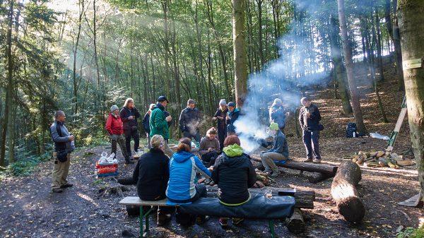 Trekkingplatz in der Pfalz