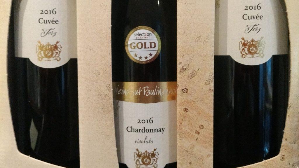 Chardonnay Risoluto und Terz vom Paulinenhof