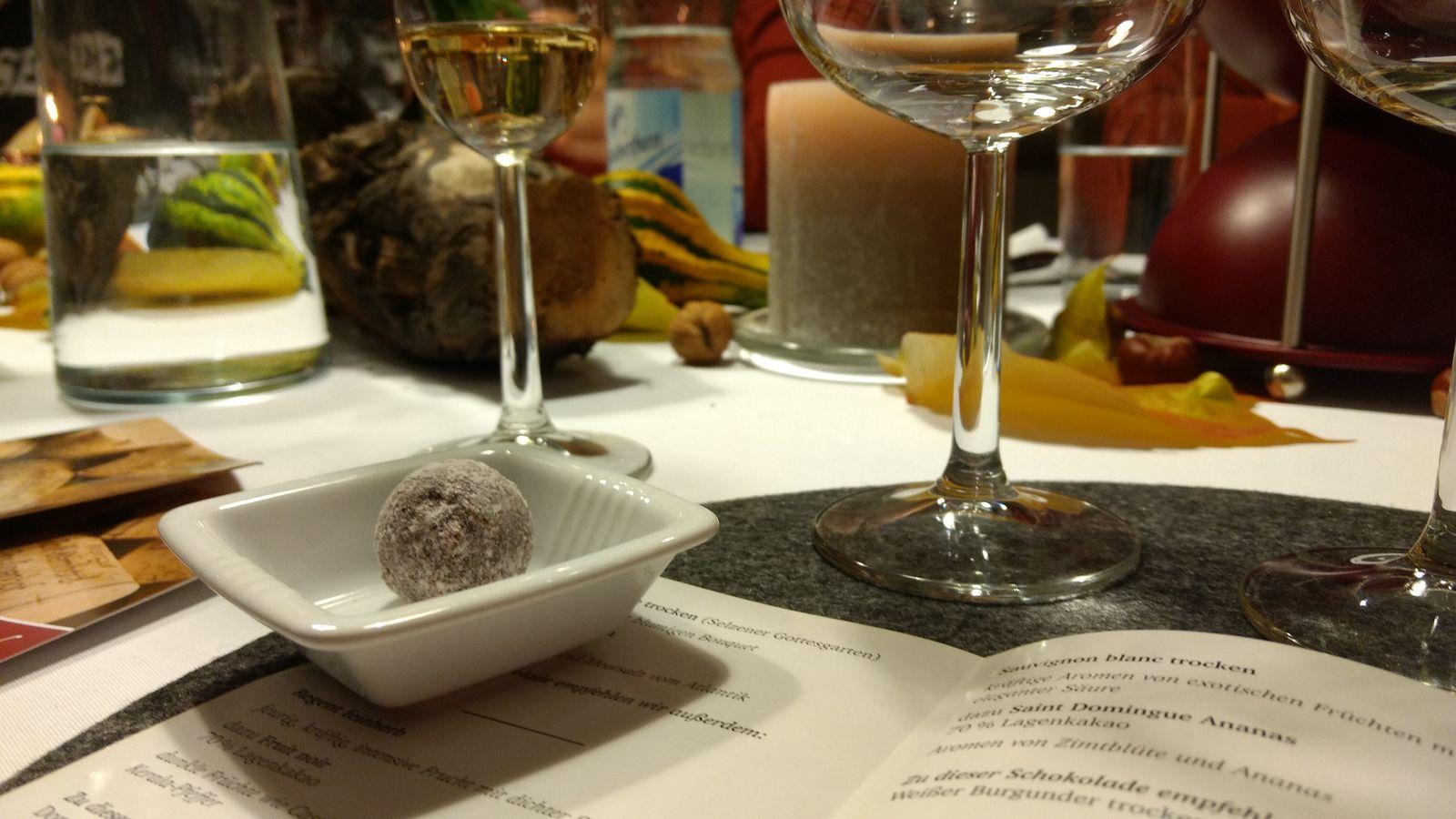 Wein und Schokolade im Paulinenhof