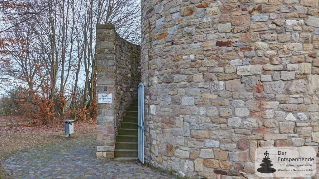 Wartbergturm Alzey: Offener Eingang