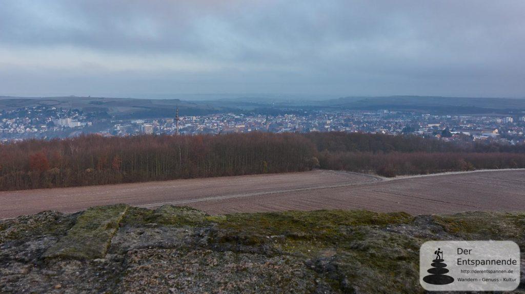 Blick vom Wartbergturm auf Alzey