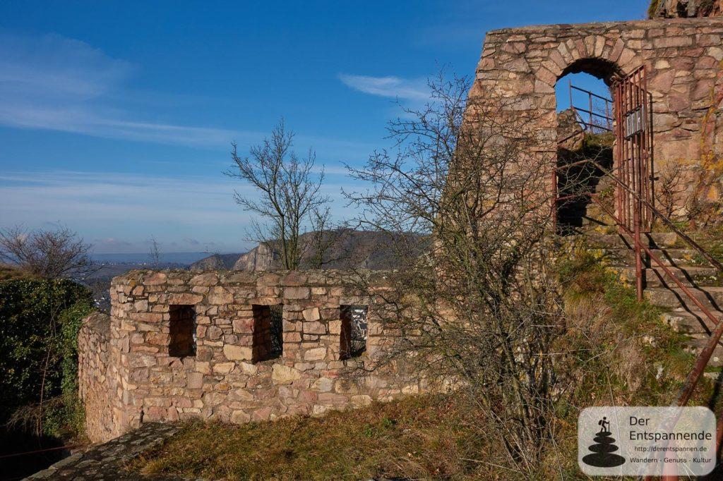 Rotenfels (von Burg Rheingrafenstein aus)