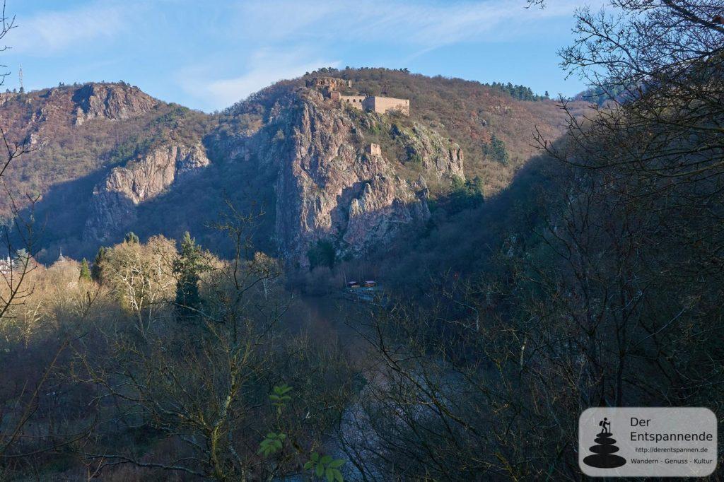 Burg Rheingrafenstein über der Nahe