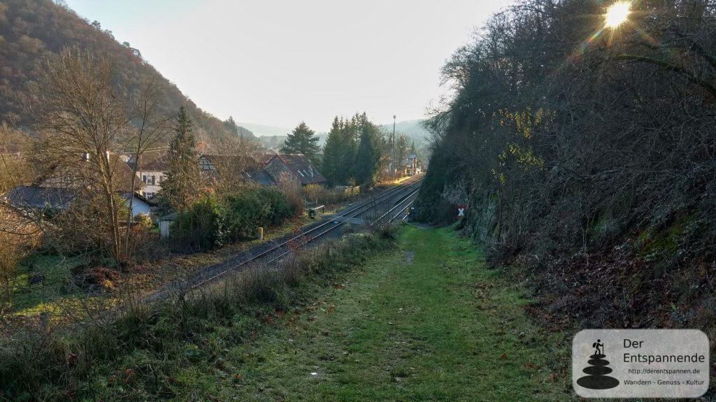 Bahnübergang Altenbamberg im Alsenztal