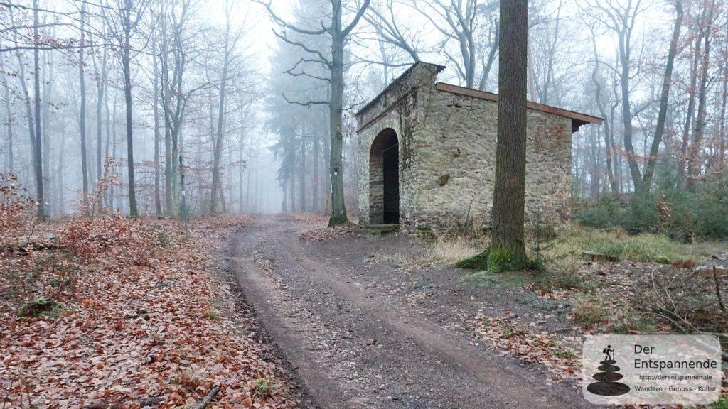Bismarckhütte im Ebernburger Wald