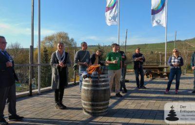 Vinocamp Rheinhessen 2018: Vorabend im Weingut Eppelmann, Stadecken