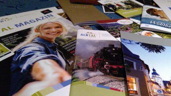 Albtal - Unterlagen fürs Bloggerwochenende