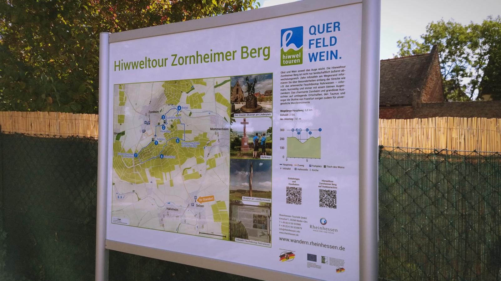 Neuer Zuweg von Selzen zur Hiwweltour Zornheimer Berg