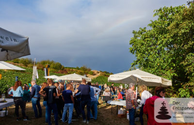 Weinprobe in den Weinbergen (Selzer Kerb 2018)