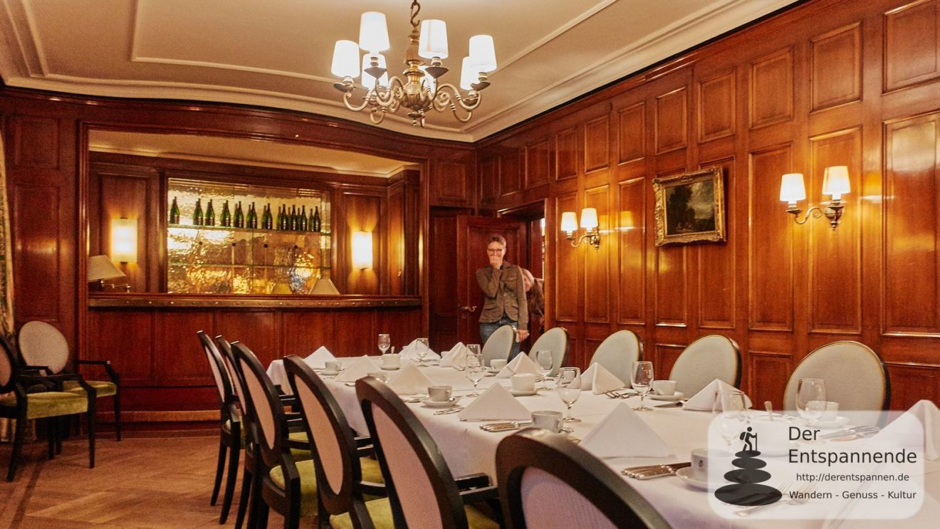 Claudia Herr staunt: Hotel Restaurant Erbprinz