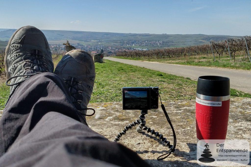 Rast über Schwabenheim, Schwabenheimer große Runde - Wandern im Selztal