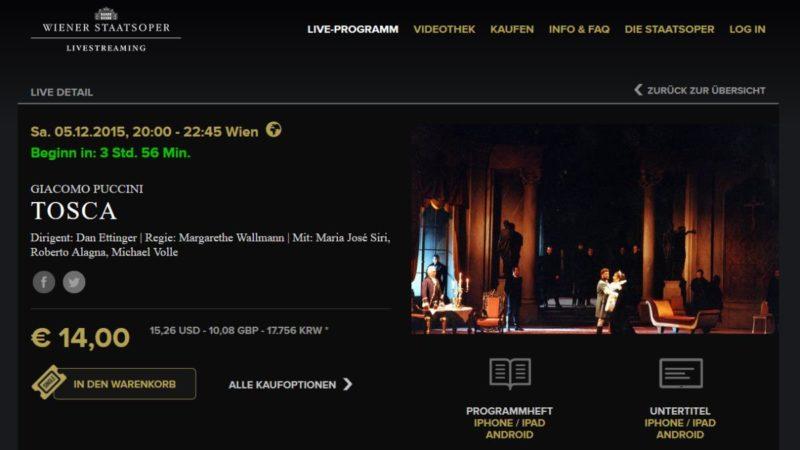 Wiener Staatsoper (live)