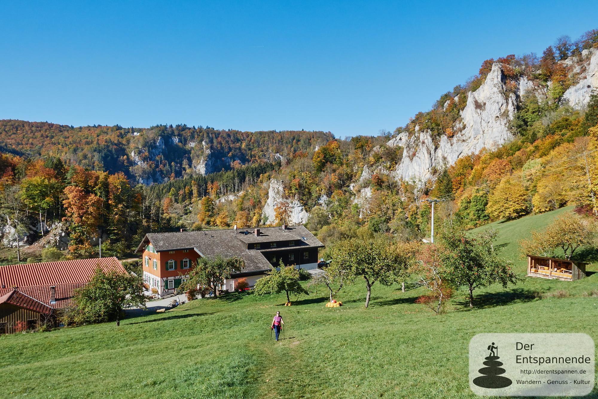 Donaufelsen-Tour: Wandern im Donaubergland mit phantastischen Panoramas
