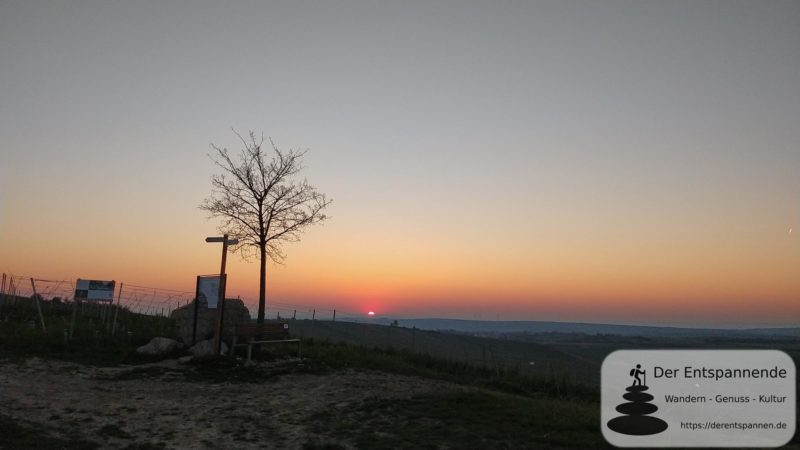 Sonnenaufgang über dem Selztal - SunriseRun am Ostersonntag