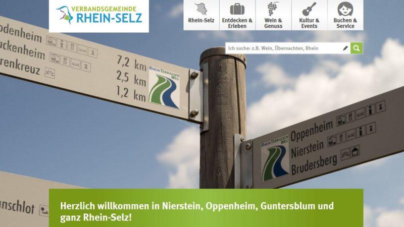 Tourismus-Portal Rhein-Selz (Screenshot)