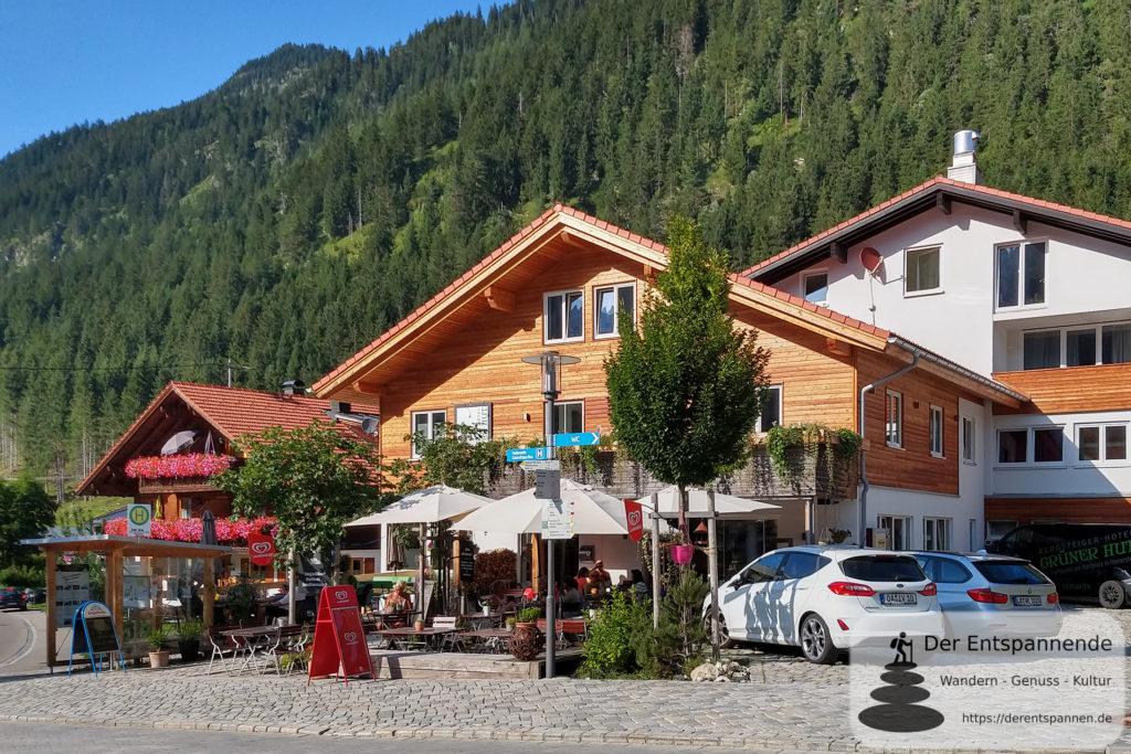 Bergsteigerhotel Grüner Hut, Hinterstein