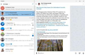 Telegram-Kanal: Der Entspannende