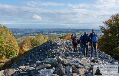 Auf dem keltischen Ringwall bei Nonnenweiler (Bloggerwandern RLP 2019)