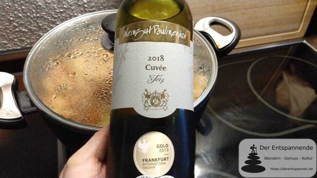 Terz - Cuvée 2018 vom Weingut Paulinenhof Selzen (für den Koch)