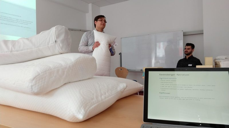 """Session """"Besser schlafen"""" mit Christian von Ravensberger Matratzen"""